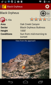 Amazing detail about every climb includes photos, strategy, history, and detailed descriptions.