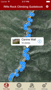 Explore Rifle rock climbing like it was meant to be explored via our interactive trail map.