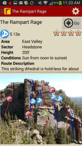 Tired of bad beta? Use local expert, Tod Anderson's beta to send your next Devil's Head climbing project.
