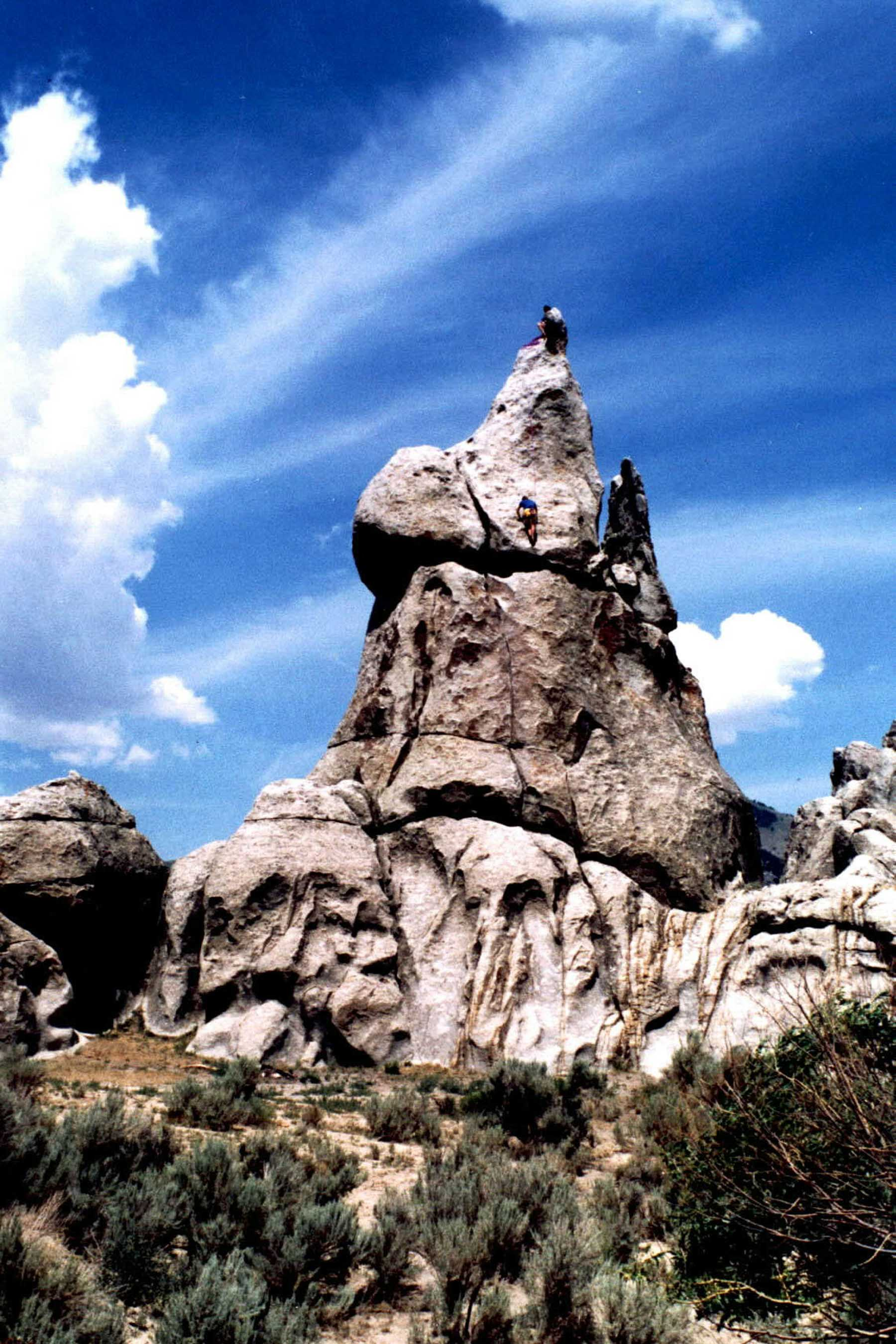 City of Rocks Climbing History by Tony Calderone