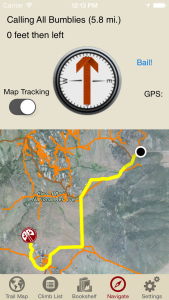 City of Rocks Climbing Navigation iPhone