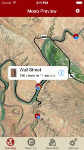 Explore Moab rock climbing like it was meant to be explored via our interactive trail map.