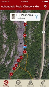Explore Adirondack Rock climbing like it was meant to be explored via our interactive trail map.