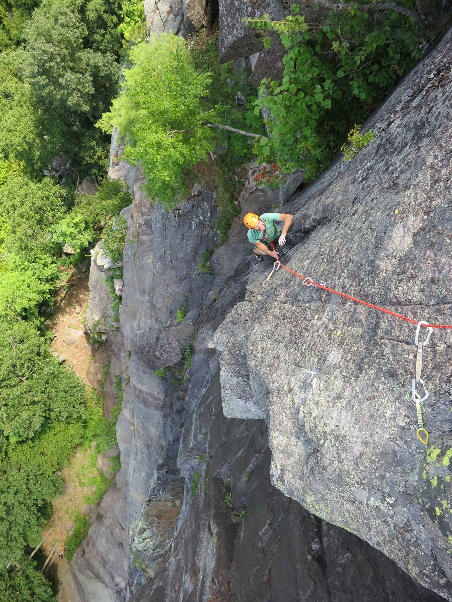 Adirondack Rock Climbing Poke-O Moonshine description Rock Climbing Rope