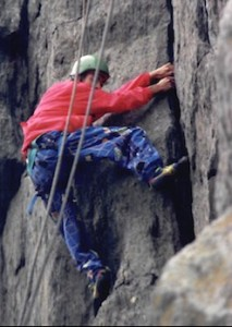 Derek Braun, in 1992, at Carderock or Great Falls