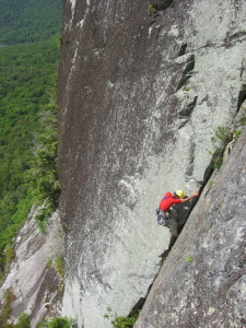 Matt Bressler on The Fissure Stony (5.8+)