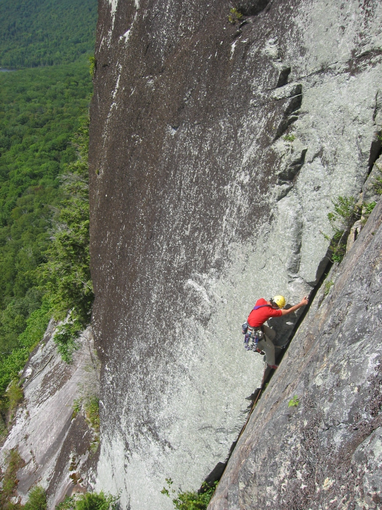 Vermont Rock Climbing By Travis Peckham