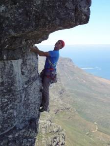 Climbing on Table Mountain Photo- Alessandro Gelmetti
