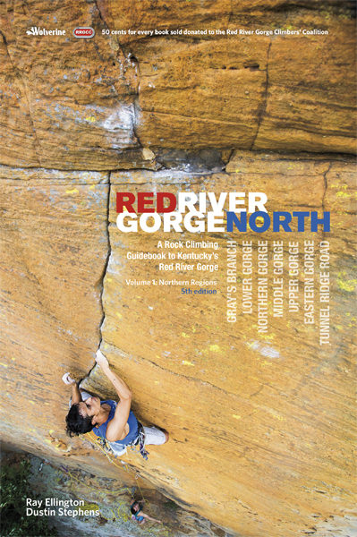 Red River Gorge North Rock Climbing Guidebook Rrg North