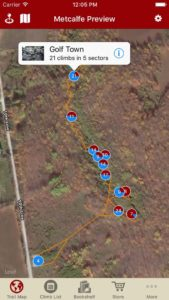 Explore Metcalfe rock climbing like it was meant to be explored via our interactive trail map.
