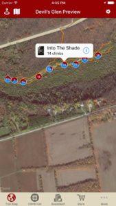 Explore Devil's Glen rock climbing via our interactive trail map.