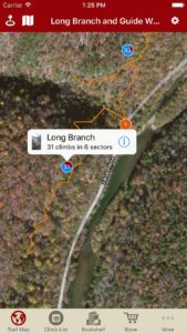 Explore Long Branch and Guide Walls via our interactive trail map.