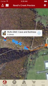 Explore Reed's Creek via our interactive trail map.