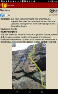 Detailed route descriptions by locals.