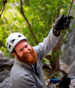 El Potrero Chico Rock Climbing Guidebook author Frank Madden
