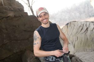 Tyrel Johnson Smoke Hole Canyon Rock Climbing Guidebook Author