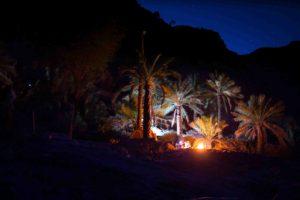 Camping at La Gorette