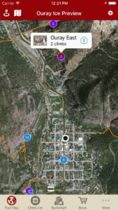 Explore Ouray Ice via our interactive trail map.