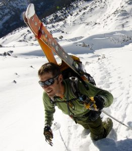 Backcountry Skiing Crested Butte, Colordo guidebook author Andy Sovick