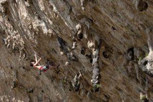 Clayton Reagan, Atodo Madre, 5.14a, La Bestia Cave.