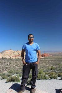 Elizabeth Furnace Rock Climbing Guidebook author Francisco Fuentes