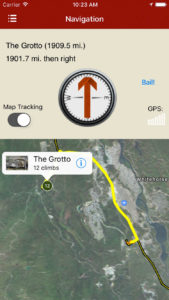 rakkup guides you car to boulder then displays your destination's picture when you arrive. Awesome.