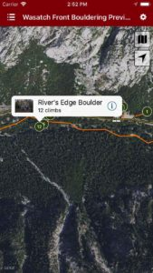 Explore Wasatch Bouldering via our interactive trail map.