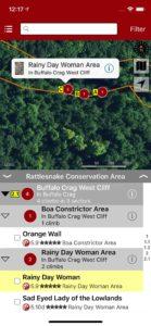 Explore Rattlesnake rock climbing via our interactive trail map.