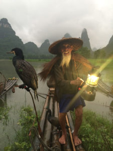 Traditional cormorant fishing culture, Photo: Anotherdayattheoffice.com
