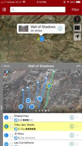 Smart topos find your line!