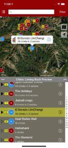 Explore Liming via rakkup's trail map features.