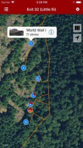Explore Exit 32 (Little Si) rock climbing via our interactive trail map.
