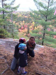 hiking Parc de la Matawinie with friends