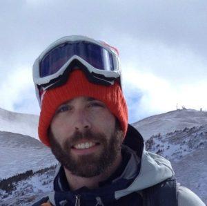 Rob Writz, Backcountry Skiing Berthoud Pass Colorado guidebook author.