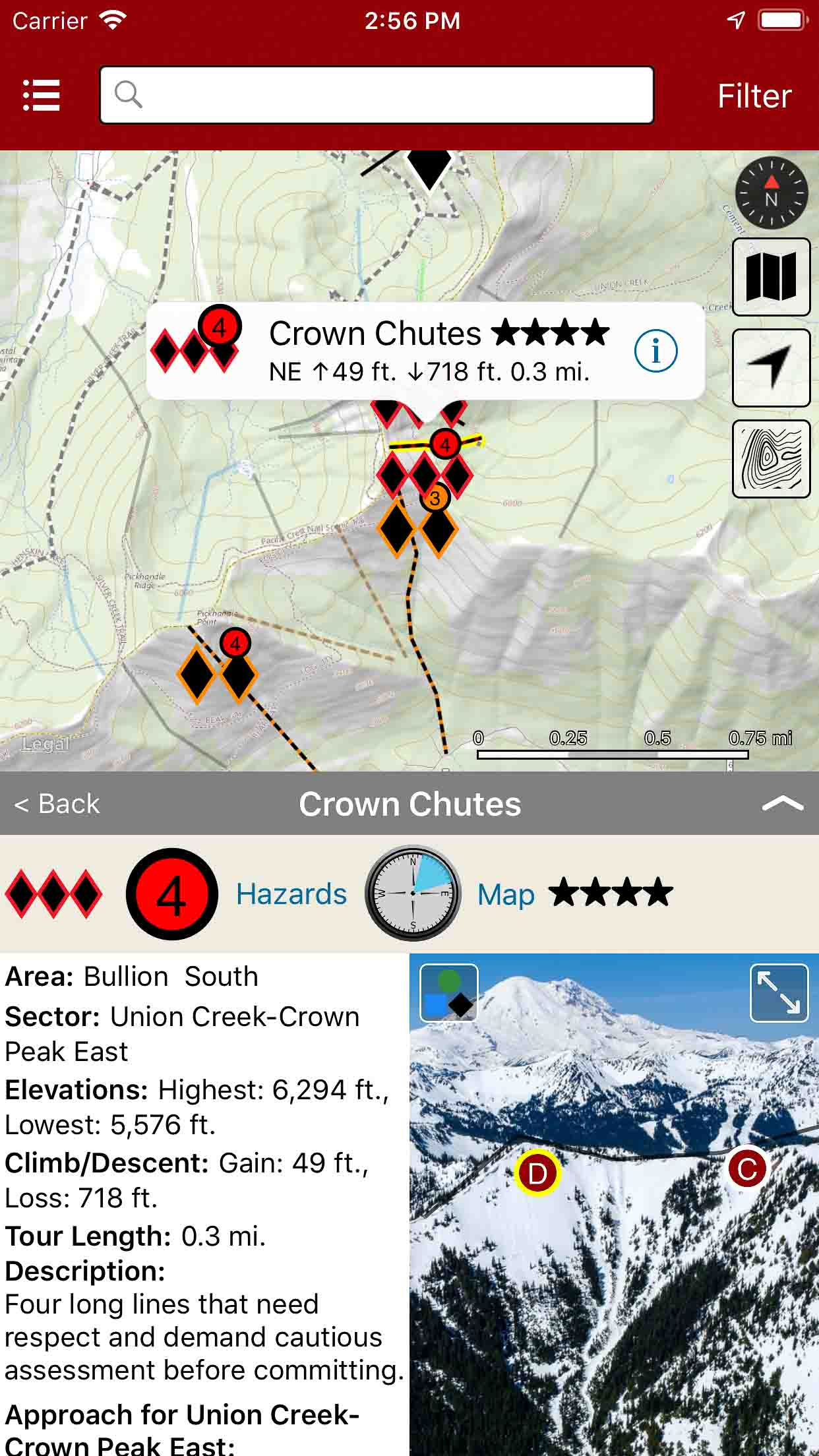 Backcountry Skiing Crystal Mountain Washington on