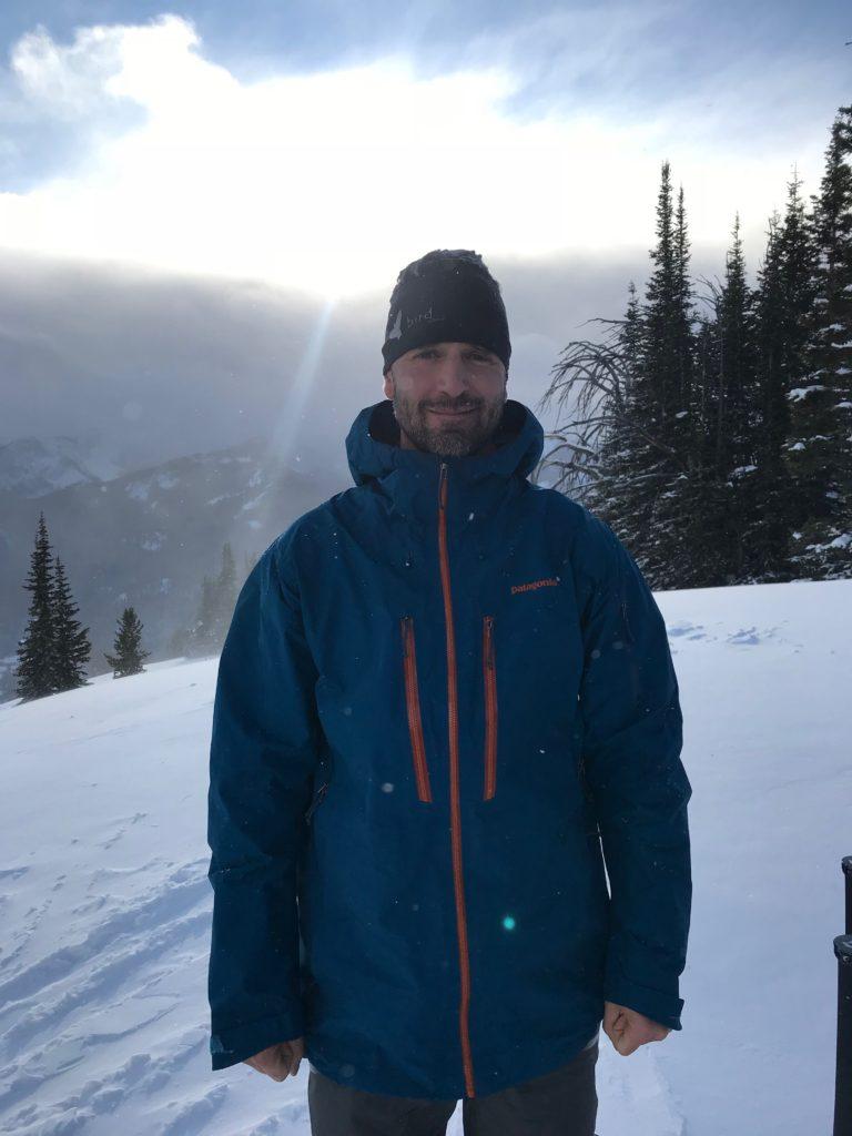 Sam Cox. Backcountry Skiing The Ridge at Bridger Bowl Guidebook Author.