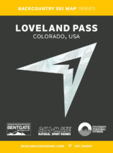 Backcountry Skiing: Loveland Pass, Colorado Guidebook