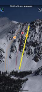 Full screen descent topo photos.