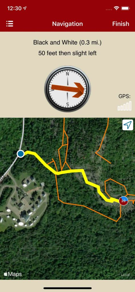 rakkkup navigates car to crag so you're never lost.