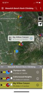 Explore Wasatch Bench via our interactive trail map.